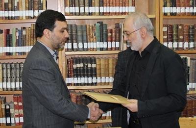 انتصاب مدیرکل کتابخانه های عمومی استان مركزی