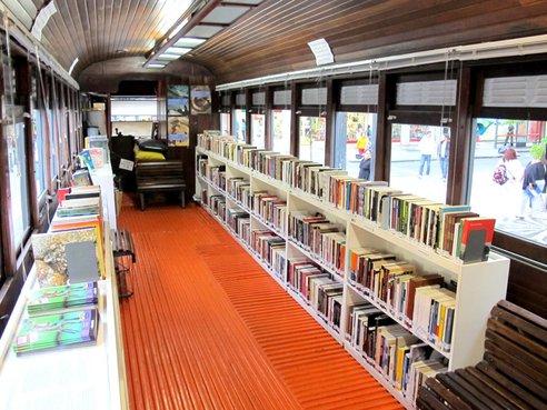 کتابخانه های قطار تاسیس می شوند