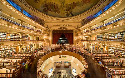 100-Year-Old Theatre Converted Into Stunning Bookstore