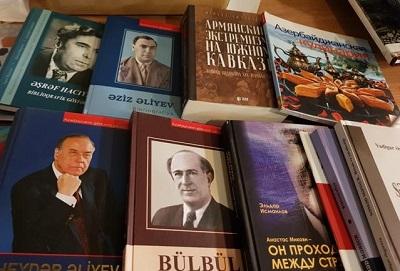 اهدای بیش از 40 اثر از کتابخانه ملی جمهوری آذربایجان به کتابخانه ملی ایران