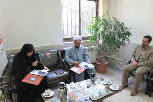 تفاهم نامه اداره کل کتابخانه های عمومی قزوین و دادگستری استان امضا شد
