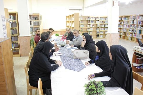 دیدار مدیر کل کتابخانه های بوشهر با برخی نهادهای استان