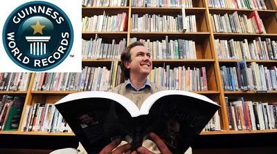 رکوردهای جالب گینس در حوزه کتاب، کتابخانه و کتابداری