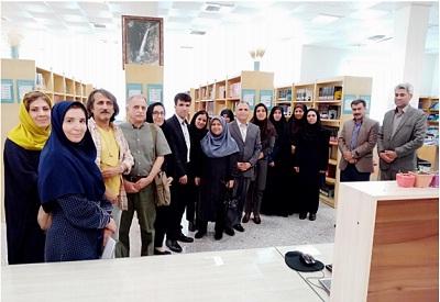 سفرانجمن کتابداری ایران شاخه فارس به یاسوج