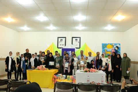اختتامیه نهمین جشنواره کتابخوانی رضوی در آغاجاری برگزار شد