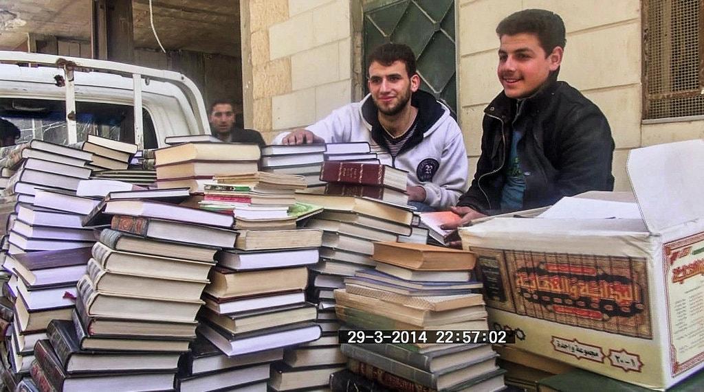 کتابخانه مخفی سوریه در دوره جنگ/ خواندن و حفاظت از رویاهای انسانی