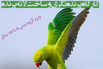 برگزاریکارگاه پرندهنگری در کتابخانه کودک دانشگاه شهید بهشتی