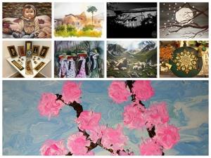 5 نمایشگاه آثار هنری در صفحه اینستاگرامی فرهنگسرای سرو