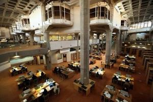 امکان استفاده از تالارهای مطالعه کتابخانه ملی با شرایط خاص