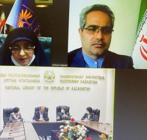 اعلام آمادگی کتابخانه ملی ایران در برگزاری کارگاه برای مرمت کتب خطی قزاقستان