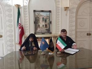 امضای تفاهم نامه سازمان اسناد و کتابخانه ملی با مرکز پژوهشهای علمی و مطالعات استراتژیک خاورمیانه