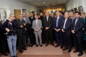 افتتاح نمایشگاه فرهنگی و هنری