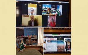 برگزاری جلسه ویدئو کنفرانس با کمیته اجرایی ISC در پاکستان