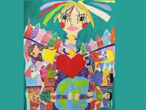 کسب جایزه اول مسابقه بینالمللی نقاشی ژاپن توسط کودکان ایرانی