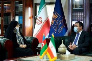 اشرف بروجردی با سفیر آذربایجان دیدار و گفت و گو کرد