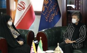 دیدار رییس سازمان اسناد و کتابخانه ملی با سفیر استرالیا در ایران