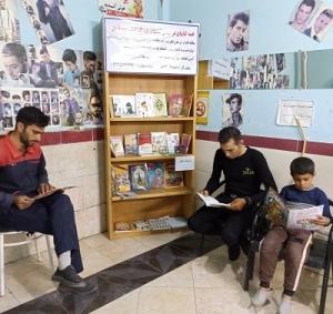 طرح «قفسه كتاب در گردش» در شهر باروق به اجرا درآمد