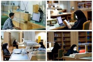 از سرگیری ارائه خدمات شیفت شب در تالارهای کتابخانه ملی ایران