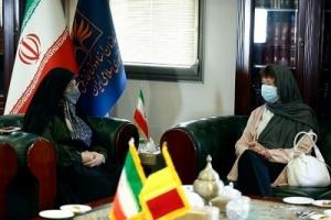 تأکید سفیر بلژیک بر انتشار و ترجمه یک کتاب مشترک با کتابخانه ملی ایران