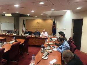 جلسه مشترک اندیشگاه کتابخانه ملی و مدیران گروههای علم اطلاعات برگزار شد