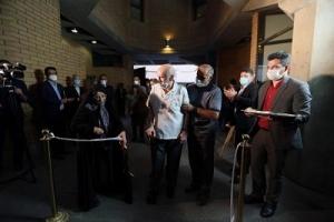 مراسم رونمایی از «تندیس یادمان اهداگران کتاب» برگزار شد