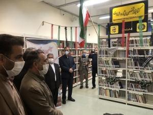 بخش تخصصی ایثار و شهادت در کتابخانه مرکزی اردبیل راه اندازی شد