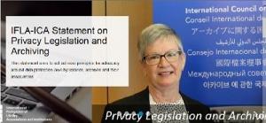 صدور بیانیه مشترک ایکا و ایفلا در مورد قانون حفظ حریم خصوصی و آرشیو