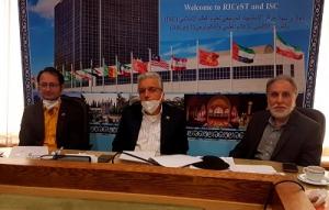 برگزاری جلسه ویدئو کنفرانس پایگاه استنادی علوم جهان اسلام با (D8-HSP)