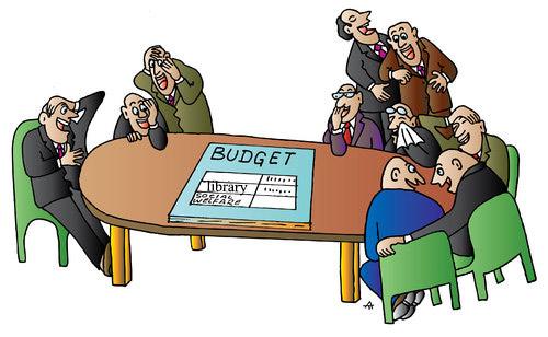 طنز: تنظیم لایحه بودجه 95 از سوی کتابدارزاده