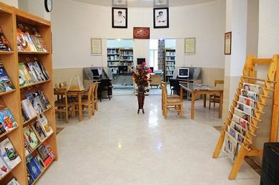 بازگشایی کتابخانه عمومی شهر اژیه