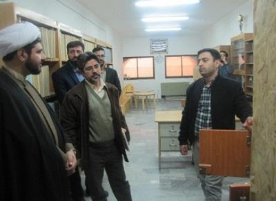 بازدید مدیرکل امور عمرانی نهاد از کتابخانه های استان قم