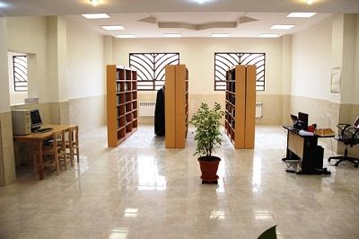 افتتاح کتابخانه بقیه الله الاعظم شهر سین